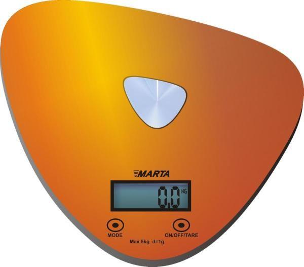 Кухонные весы Marta MT-1632 золото/блестящий