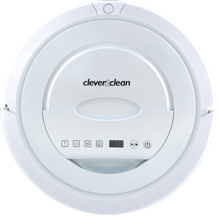 Робот пылесос Clever&clean Z--series white moon