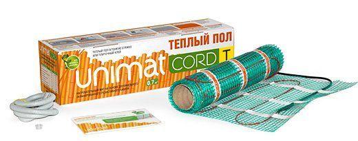 Нагревательный мат Caleo UNIMAT CORD T 130-0,5-10,0