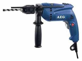 Дрель ударная AEG 412681(sbe 570 r)