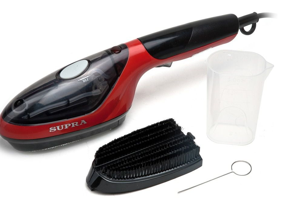 Отпариватель SUPRA SBS-103 black/red