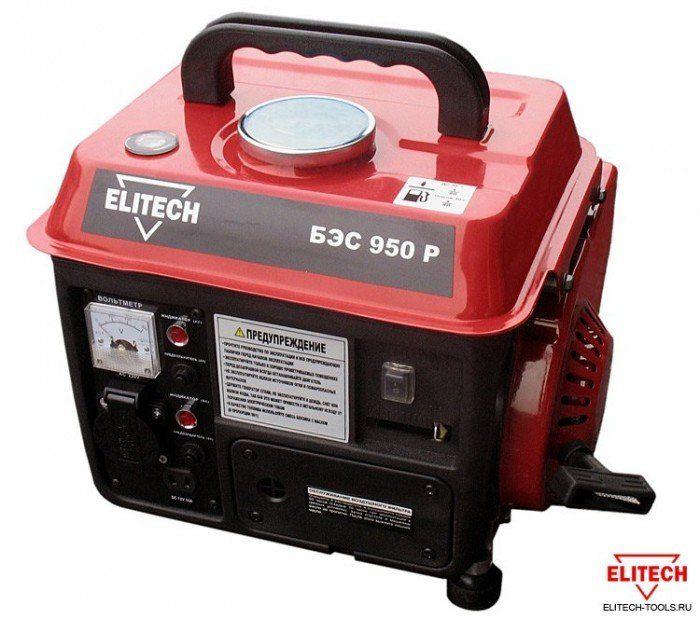 Электростанция Elitech БЭС 950 Р