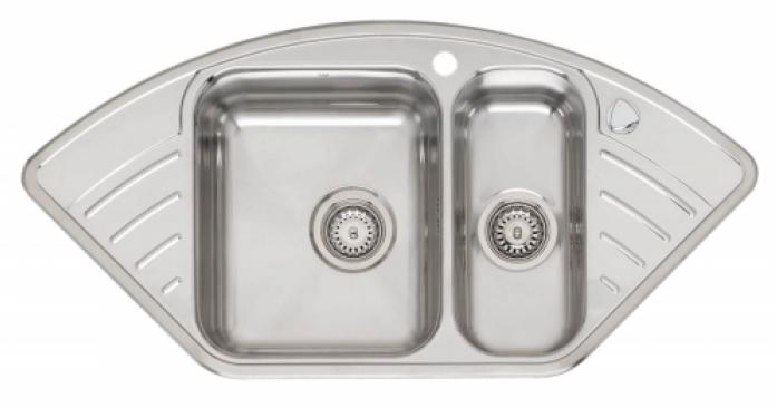 Кухонная мойка REGINOX empire l15 lux kgokg left (c/box)