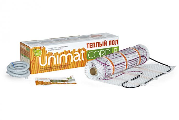 Нагревательный мат Caleo UNIMAT CORD P 140-0,5-8,0