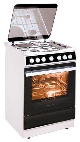Плита с комбинированными конфорками KAISER HGE 62301 W