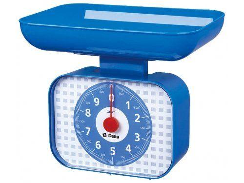 Кухонные весы DELTA КСА-105 синий