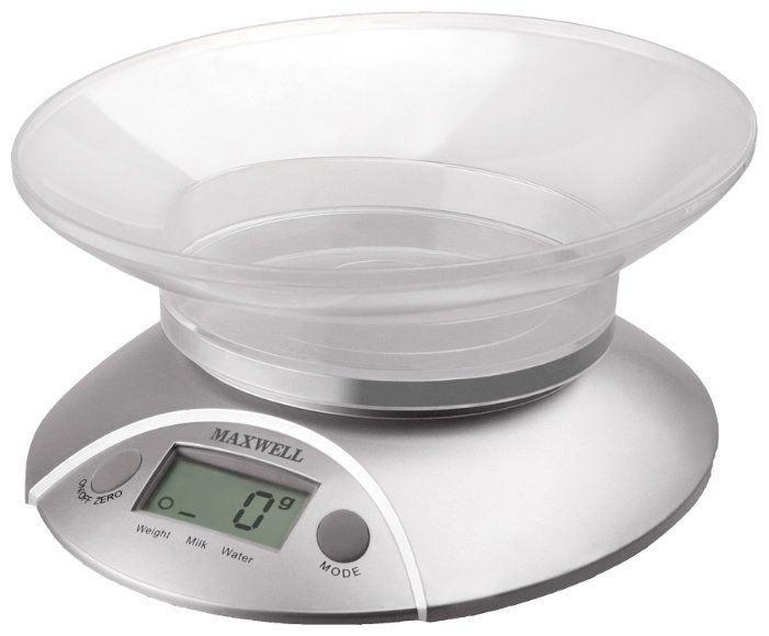 Кухонные весы Maxwell MW-1451-SR серебристый