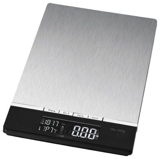 Весы кухонные CLATRONIC KW 3416 inox