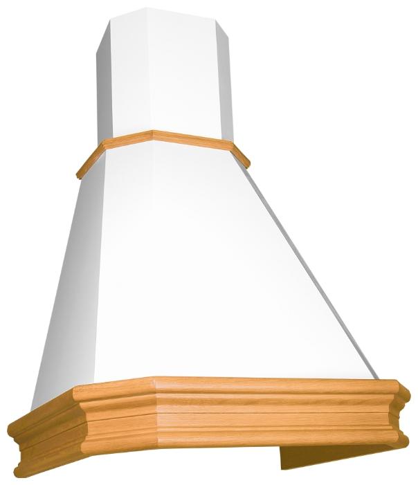 Вытяжка ELIKOR пергола 60 бежевый / дуб белый с патиной де капе