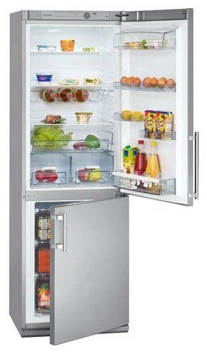 Холодильник BOMANN KGC 213 silber A++/298L