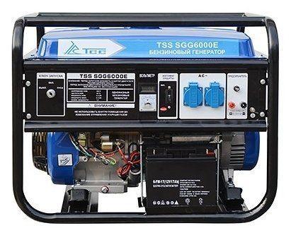 Бензогенератор ТСС SGG 6000 E