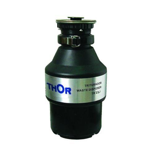 Измельчитель бытовой THOR T22 с пневмокнопкой, без комплекта сливной арматуры 80109002