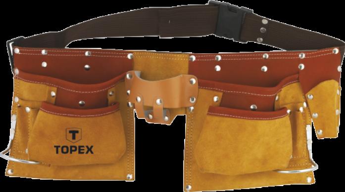 Пояс монтажника TOPEX 11 карман