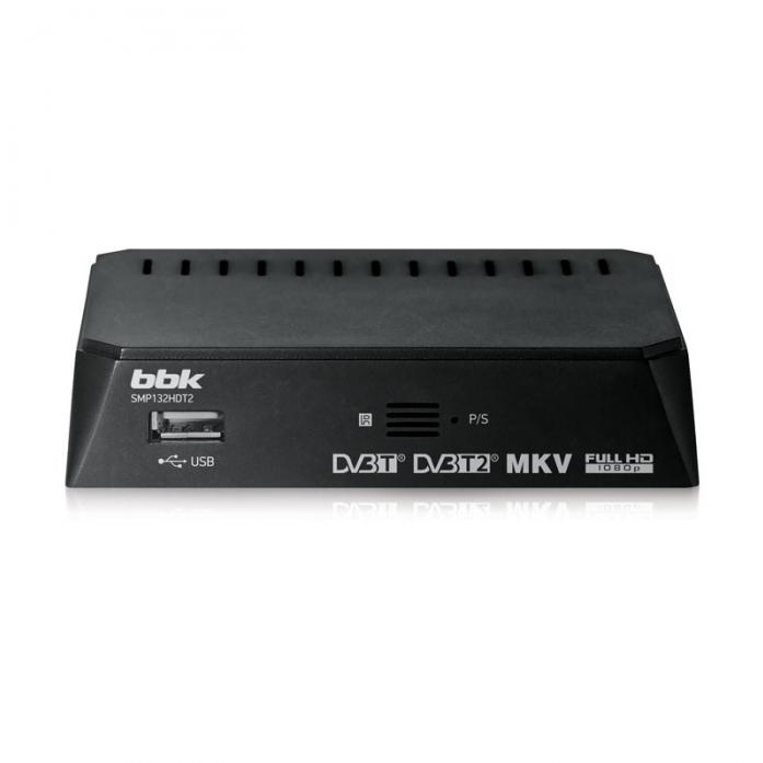TV-тюнер BBK SMP132HDT2 темно-серый