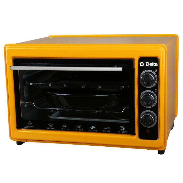 Мини-печь DELTA D-023 рестайлинг жёлтая
