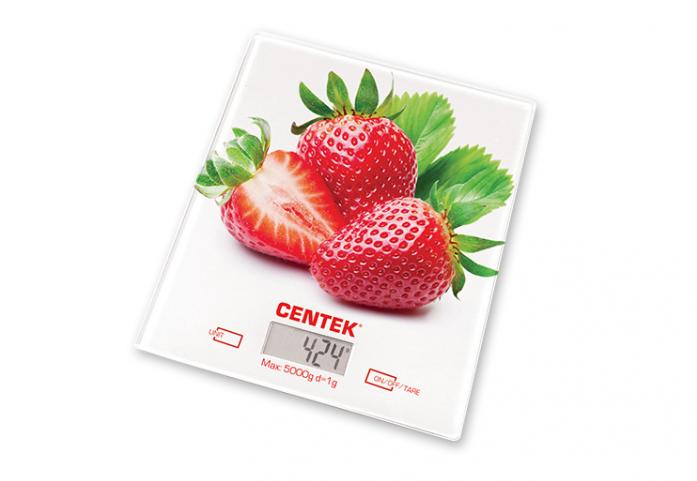 Кухонные весы CENTEK CT-2462 (Клубника)