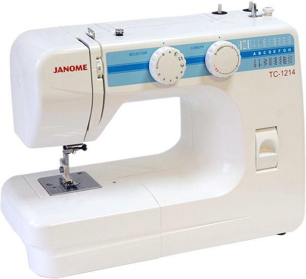 Швейная машина JANOME tc 1214 белый