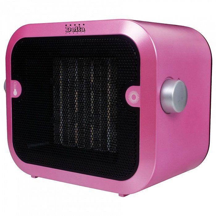Тепловентилятор DELTA D-0305 розовый