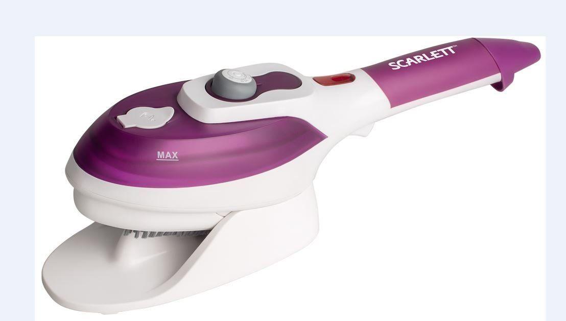 Отпариватель Scarlett SC-SB23201 фиолетовый/белый