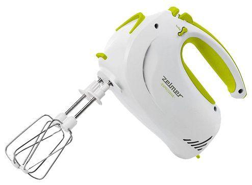 Миксер Zelmer ZHM1204L белый/светло-зеленый