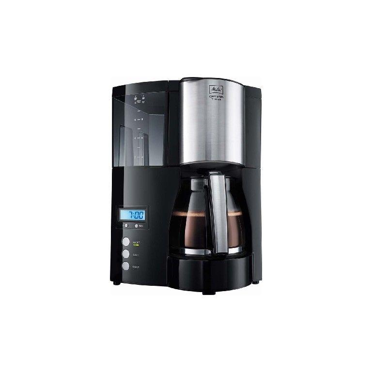 Кофеварка MELITTA optima glass timer черный
