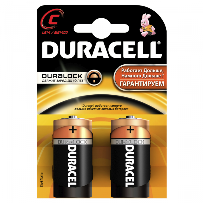 Батарейка DURACELL Basic LR14-2BL C