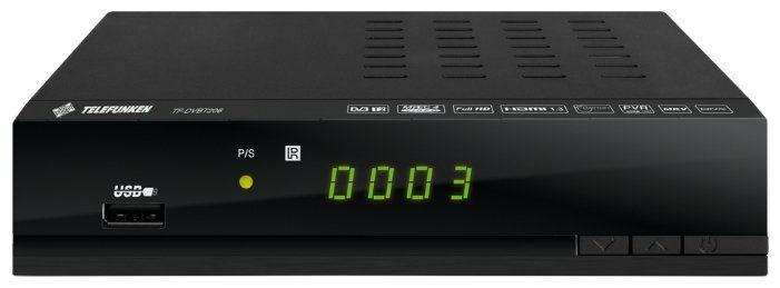TV-тюнер TELEFUNKEN TF-DVBT206 черный