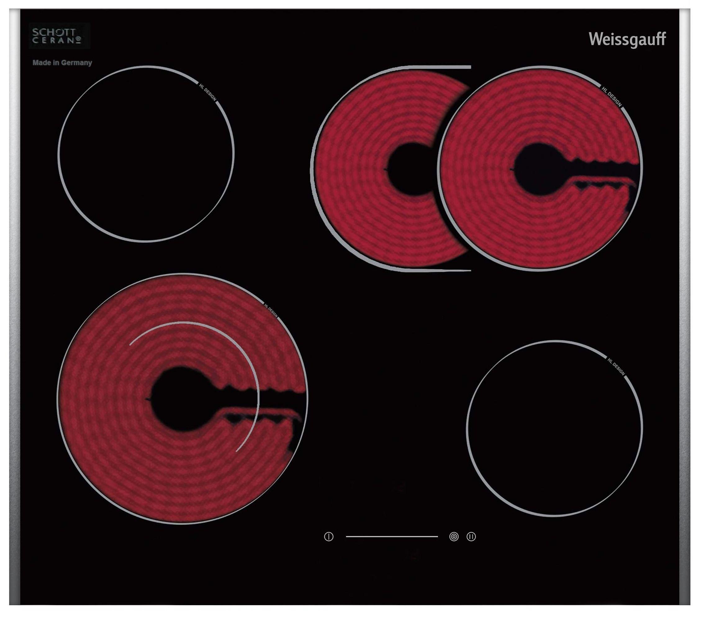 Стеклокерамическая панель Weissgauff HVB 675 B