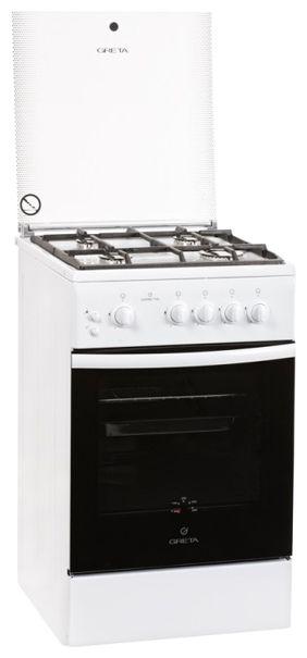 Газовая плита Greta 1470-00-07 белая