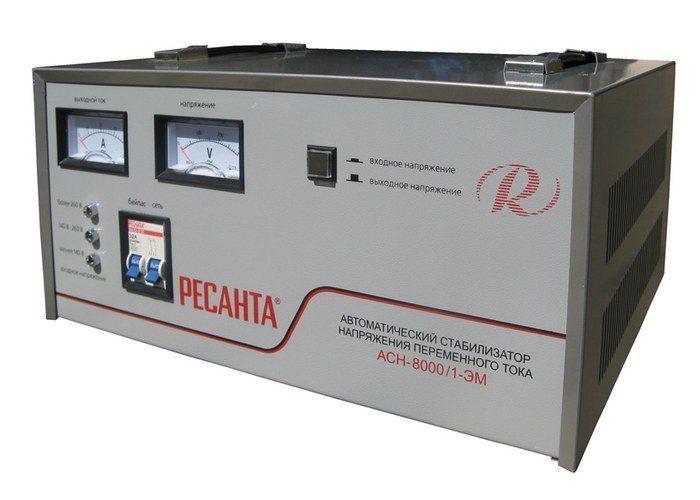 Стабилизатор напряжения Ресанта ACH-12000/1-ЭМ