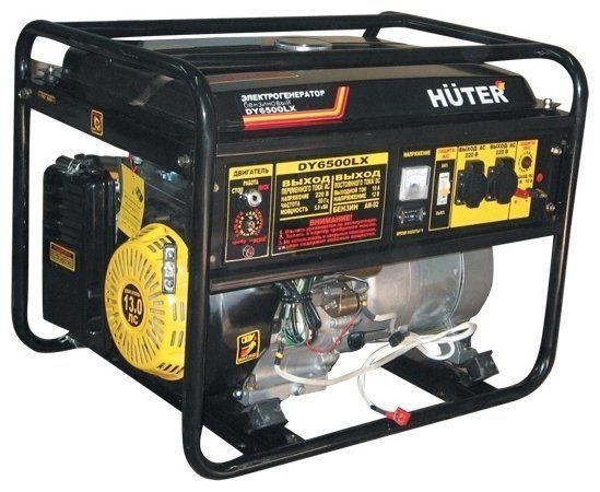 Электрогенератор - электростартер HUTER DY6500LX (64/1/7.)