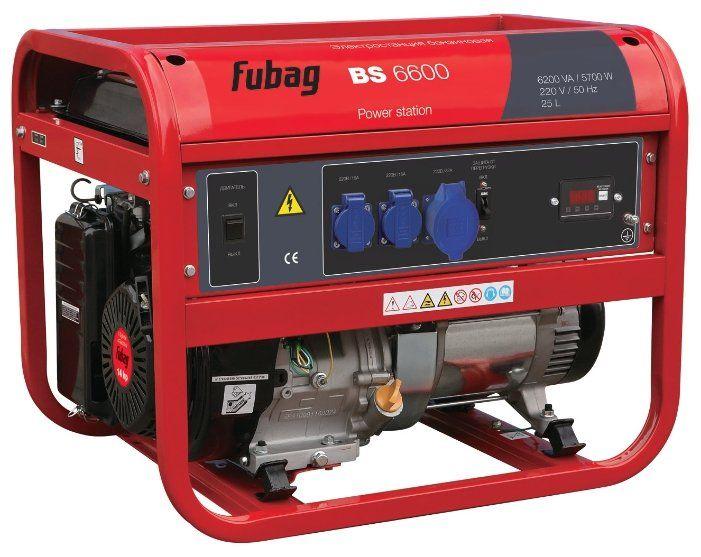 Электростанция FUBAG BS 6600