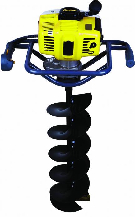 Мотобур (бензобур) Champion AG252+бур земляной 200мм