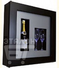 Винный шкаф IP INDUSTRIE qv12-n1152b серии quadro vino