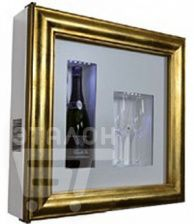 Винный шкаф IP INDUSTRIE qv12-b3150b серии quadro vino